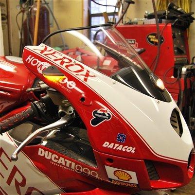 Ducati 999 Mirror Block Off Turn Signals - New Rage Cycles