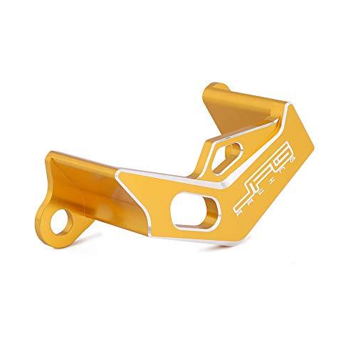 JFG RACING Rear Brake Caliper Cover Guard Protector For Suzuki RMZ 250 2007-2017  RMZ 450 2005-2017  RMX 450 2010-2011 - Gold