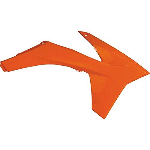 Acerbis Radiator Shrouds - KTM Orange  Color Orange 2043670237