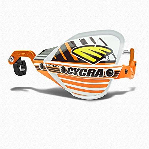 Cycra Probend CRM Handguards Oversize Bar Pack - KTM Orange Bars FACTORY EDITION