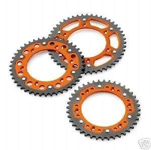 NEW KTM ORANGE STEALTH REAR SPROCKET 52T TOOTH 2000-2012 125-530 5841005105204