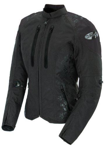 Joe Rocket Atomic 4.0 Women's Textile Riding Jacket (black, Small)