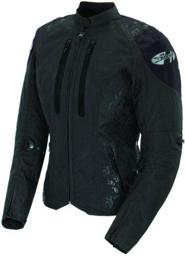 Joe Rocket Womens Atomic 4.0 Textile Motorcycle Jacket Black/black Xxl 2xl