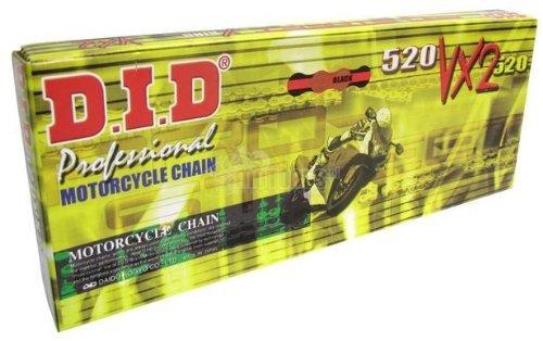 SDG 525 VX X-Ring Chain - 120 Links - GoldBlack  Chain Type 525 Chain Length 120 Chain Application Offroad 525VXG120ZB