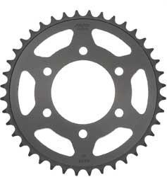 Sunstar 2-435043 42-Teeth 525 Chain Size Rear Steel Sprocket