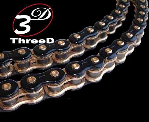 EK Chain 520 GP 3D Premium Chain - 120 Links - Gold