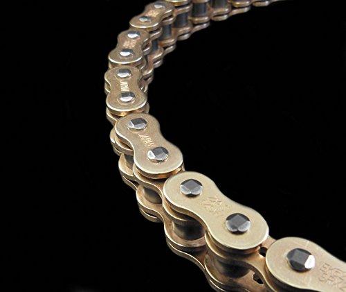 EK Chain 520 SRX2 Quadra X-Ring Chain - 120 Links - Gold Chain Application All Chain Length 120 Chain Type 520 Color Gold EK 520SRX2 X 120 GLD