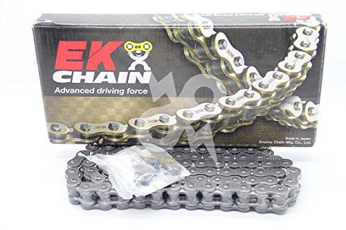 EK Chain 520 SRX2 Quadra X-Ring Chain - 120 Links - Natural Chain Length 120 Chain Type 520 Color Natural Chain Application All EK 520SRX2 X 120