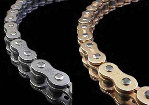 EK Chain 520 SRX2 Quadra X-Ring Chain - 130 Links - Gold Chain Application All Chain Length 130 Chain Type 520 Color Gold EK 520SRX2 X 130 GLD