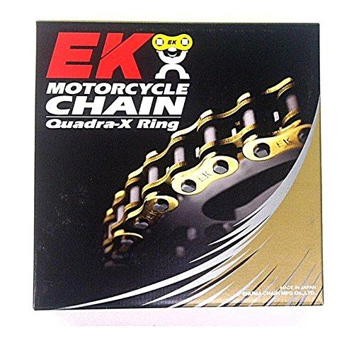 EK Chain 530 ZVX3 NX-Ring Chain - 130 Links - Chrome  Chain Type 530 Chain Length 130 Chain Application Street Color Chrome EK 530ZVX3 X 130 CHR