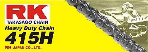 RK Racing Chain M415H-110 110-Links Heavy Duty Motorcycle Chain