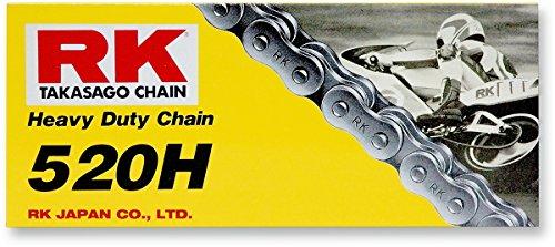 RK Racing Chain M520H-120 120-Links Heavy Duty Motorcycle Chain