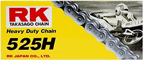 RK Racing Chain M525H-120 120-Links Heavy Duty Motorcycle Chain