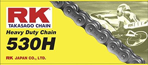 RK Racing Chain M530H-110 110-Links Heavy Duty Motorcycle Chain