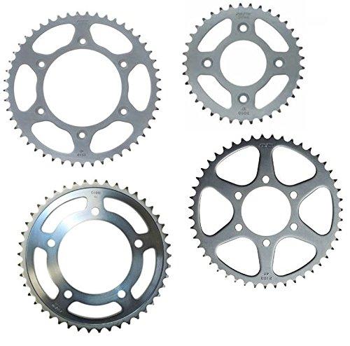 Sunstar 2-100837 37-Teeth 420 Chain Size Rear Steel Sprocket