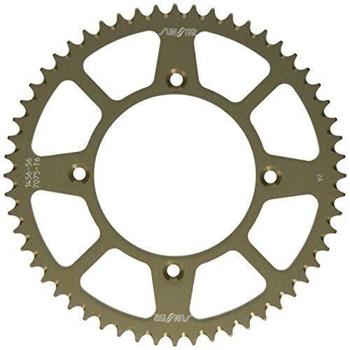 Sunstar 5-145656 Works Triplestar 56-Teeth 420 Chain Size Rear Aluminum Sprocket