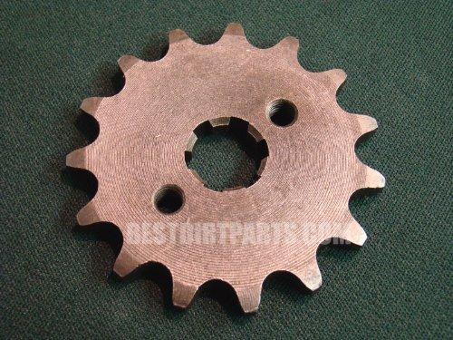Front Countershaft Sprocket 14 teeth 428 chain size Honda XR CRF 50 70 110 125 or Similar Pit Dirt Bikes