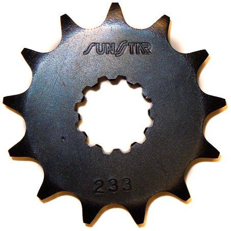 Sunstar 23313 13-Teeth 428 Chain Size Front Countershaft Sprocket