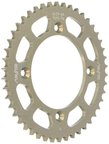 Sunstar 5-242946 Works Triplestar 46-Teeth 428 Chain Size Rear Aluminum Sprocket