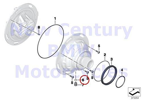 BMW Genuine Motorcycle O-Ring 112X18 C600 Sport C650GT R nine T R1200GS R1200GS Adventure HP2 Enduro HP2 Megamoto R1200RT R900RT R1200R R1200ST HP2 Sport R1200S K1200S K1300S K1200R K1200R Sport K1