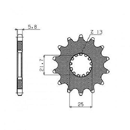 Sunstar Steel Front Sprocket 14T 32514