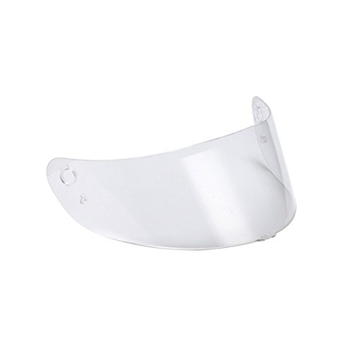 Triangle Clear Replacement Visor Face Shield for Full Face Street Bike Motorcycle Helmet Model TFF15 One Size