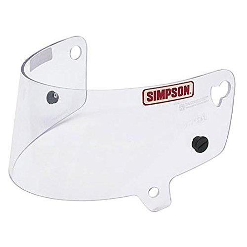 Simpson Racing 88400A Shield-Shark Antifog Clear Helmet