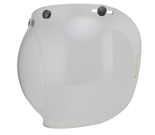 Woljay Motorcycle Helmet Bubble Shield for Helmet Clear