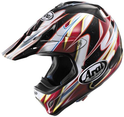 Arai Helmets Visor For Vx-pro3 Helmet - Red Akira 810106