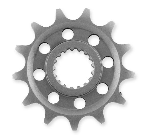 JT Sprockets Steel Front Sprocket - 16T  Sprocket Teeth 16 Color Natural Sprocket Size 525 Sprocket Position Front Material Steel JTF52016