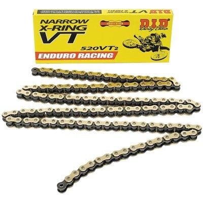 DID 520 VT2 Narrow Enduro Racing X-Ring Chain 520x120 for Honda XR650L 2014