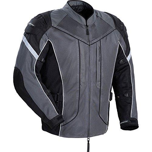Tour Master Sonora Air Women's Textile Touring Motorcycle Jacket - Gun Metal Silver / X-small