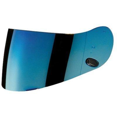 HJC AC-12CL-SPCL-15CL-16FS-10IS-16CS-R1CS-R2 Motorcycle Helmet Replacement Faceshield Mirror-Coated Blue
