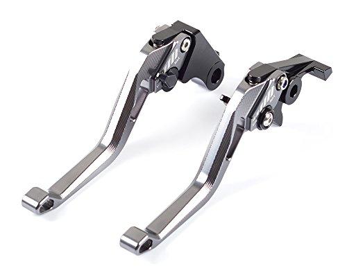 Tencasi Titanium New Short Rhombus Hollow Adjustable Brake Clutch Lever for YAMAHA R1 R1M R1S 2015 2016 2017  YZF R6 2017