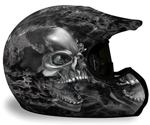 Helmet Skin - NITRO - Black Design