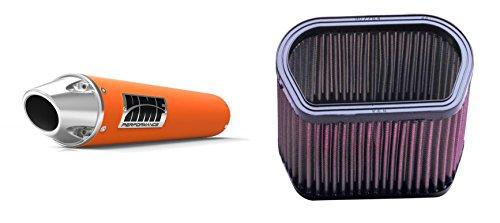 K&N Air Filter HMF Orange Performance-Series Slip On Exhaust Euro-Polished for Yamaha R1 2002-2003