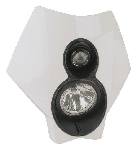 Trail Tech 37T1-70 X2 Torch White 70W Dual Sport Halogen Universal DOT Motorcycle Headlight