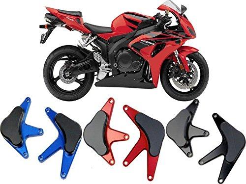 Motorcycle CNC Aluminum Engine Crash Guard Side Protector Stator Cover Frame Slider for 2008-2011 Honda CBR1000RR CBR 1000RR CBR 1000 RR 2009 2010 Black