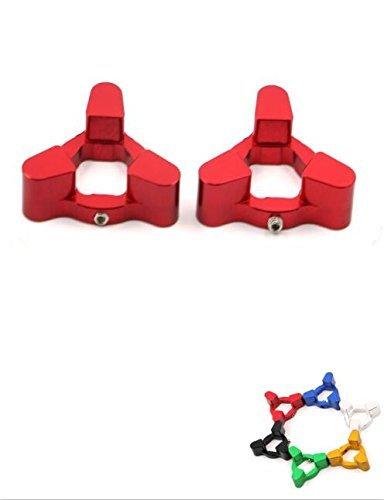 Pair Fork Preload Adjusters CNC Aluminum For BMW F800GS 08-10 G650X 2009 BUELL 1125R 08-09 XB12R 09 DUCATI M1100 Monster 2009 HONDA CBR 600RR 07-10 CBR1000RR 08-10 CB1000R 08-09 Red