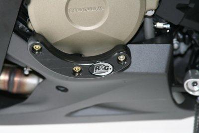 R&G Engine Case Slider LHS-Honda CBR1000RR 08-14 remove plastic cover on 12 bike