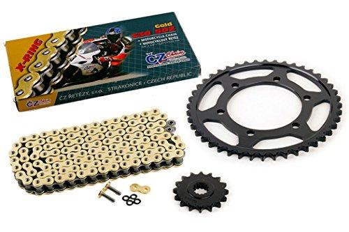 03-05 Yamaha R6 YZF-R6 530 Conv CZ SDZ Gold X-Ring Chain Sprocket 1644 120