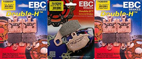 EBC HH Front Rear Brake Pads Set - Kawasaki ZX6R  ZX6RR - 2003-2006