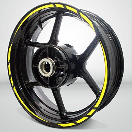 Rapid Outer Rim Liner Stripe for Suzuki GSXR 750 Gloss Yellow