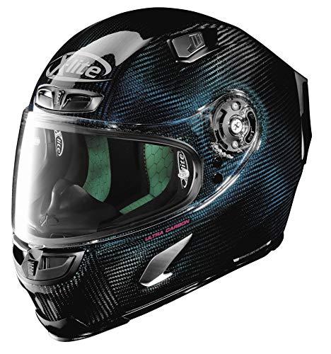 X-Lite Helmets Xlx803 Ultra Crbn Nuance Blu Xl U835275590066 New
