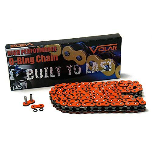 Volar O-Ring Chain - Orange for 1995-2007 Yamaha Virago 250 XV250