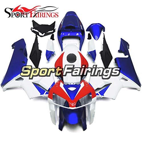 Sportbikefairings Blue Red White Injection ABS Fairing Kit For Honda CBR600RR CBR600 RR F5 Year 2005 2006 Bodywork