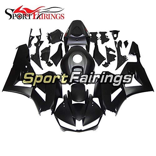 Sportbikefairings Complete Full Fairing Kit For Honda CBR600RR CBR600-RR F5 Year 2013 2014 2015 2016 Black Matte Body Kit Fitting Panel