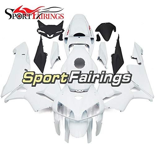 Sportbikefairings Motorbike Fairing Kit For Honda CBR600RR CBR600 RR F5 Year 2005 2006 White Pearl Bodywork