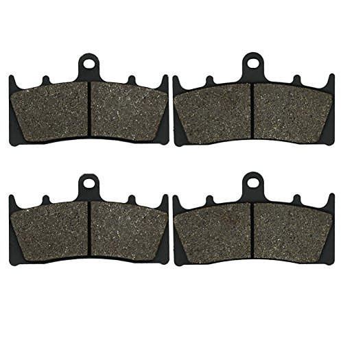 Cyleto Front Brake Pads for SUZUKI GSX1400 GSX 1400 K 2001 2002 2003 2004 2005 2006 2007
