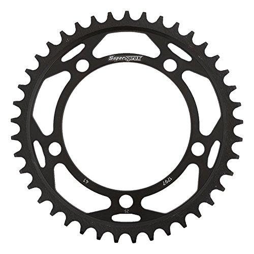 Supersprox RFE-1797-41-BLK Rear Steel Sprocket Black For Suzuki GSX 1400 01 02 03 04 05 06 07 08